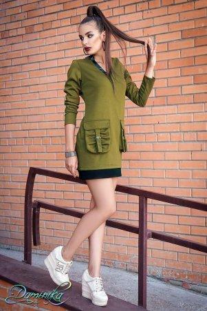 """Daminika: Платье в стиле гламурный спорт """"05"""" 11738 X - главное фото"""