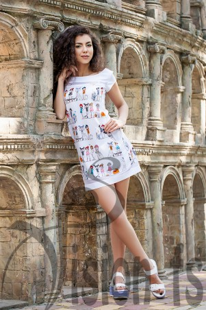 Vision FS: Стильное платье Girls 16507 - главное фото