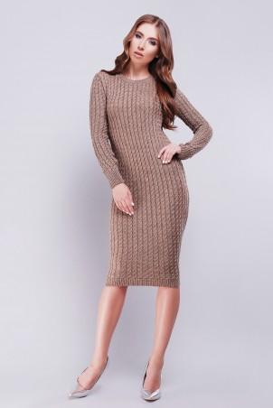 Lerri. Платье 128-1. Артикул: 128-1 светло-коричневый