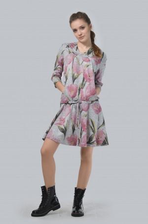 Agata Webers. Платье с капюшоном. Артикул: Д-075053АС