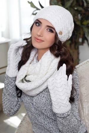 Braxton. Комплект «Франческа» (шапка, шарф-снуд и перчатки). Артикул: 4302-38