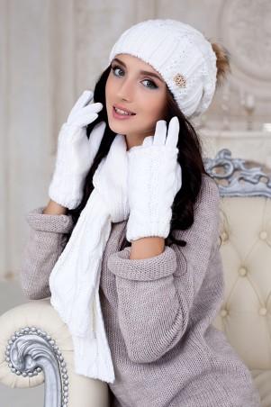 Braxton. Комплект «Эйфория» (шапка, шарф и перчатки). Артикул: 4253-15