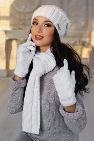 Braxton. Комплект «Андорра» (шапка, шарф и перчатки). Артикул: 4153-15