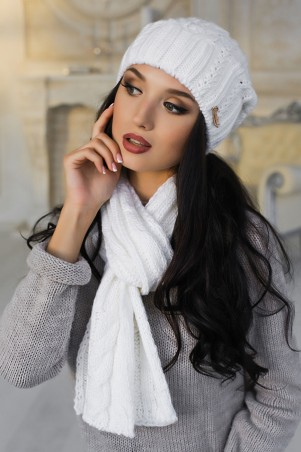 Braxton. Комплект «Андорра» (шапка и шарф). Артикул: 4153-10