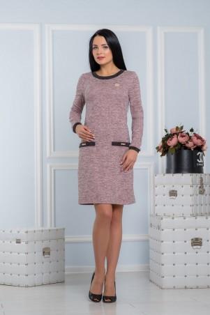 A-Dress. Платье-футляр с жумчужными украшениями. Артикул: 70710