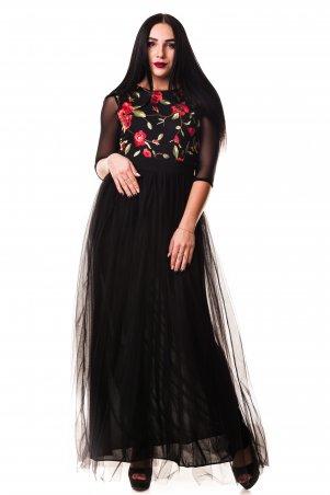 "Zanna Brend. Модное вечернее платье ""Роза"". Артикул: 55"