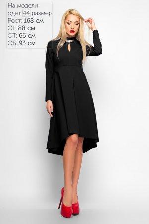 LiPar. Платье–маллет Марлен. Артикул: 3164 черный