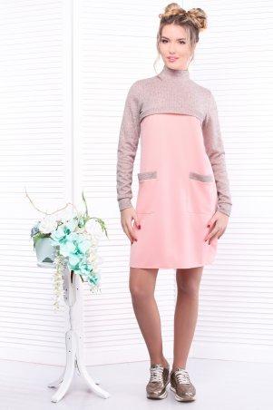 Alpama: Платье розовое SO-13290-PNK - главное фото