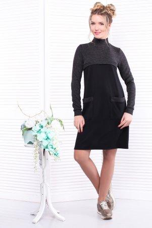Alpama: Платье черное SO-13290-BLK - главное фото
