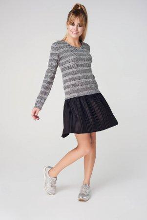 Marterina. Платье с плиссированной юбкой. Артикул: K08P78LX10