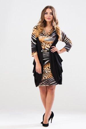 RicaMare: Платье, визуально стройнящее фигуру RM156-14DD - главное фото