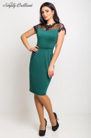 Simply brilliant: Платье Селена03_темно_зеленый - главное фото