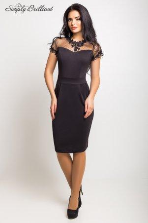 Simply brilliant: Платье Селена01_черный - главное фото