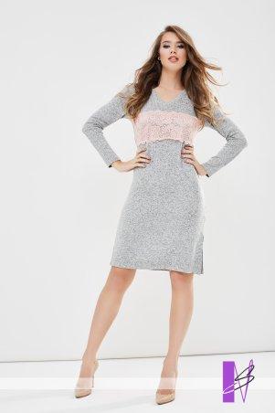 New Style. Платье-туника. Артикул: 1197_серый