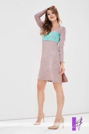 New Style. Платье-туника. Артикул: 1197_пудровый