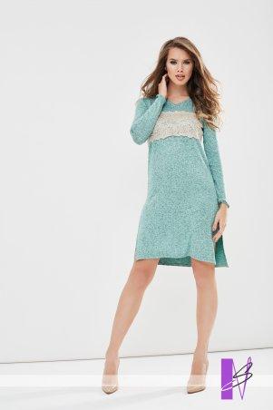 New Style. Платье-туника. Артикул: 1197_ментоловый