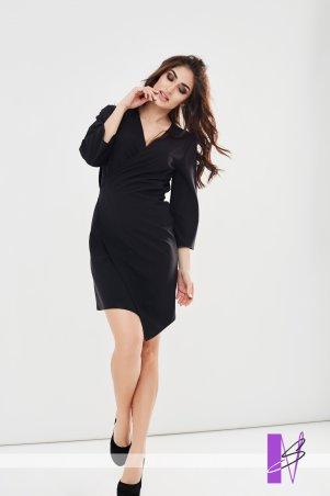 New Style. Платье на запах. Артикул: 1193_черный