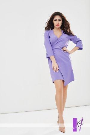 New Style. Платье на запах. Артикул: 1193_фиолетовый