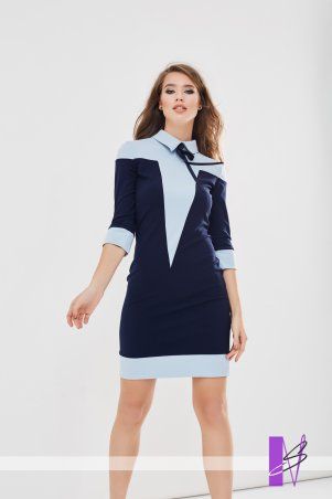 New Style. Платье. Артикул: 1178_ синий