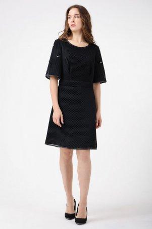 RicaMare. Коктейльное платье с 3D-сеткой. Артикул: RM1154-17VC