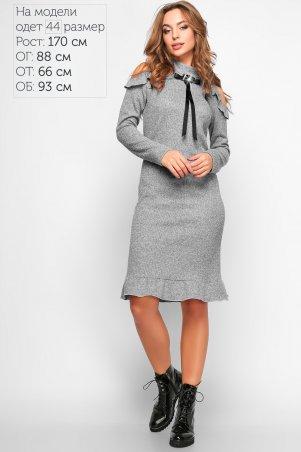 LiPar: Платье Адели 3116 серый - главное фото