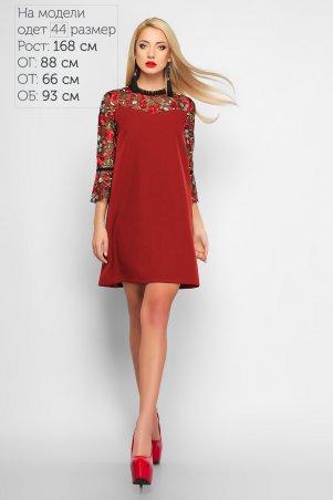 LiPar: Платье Инесса Красное 3165 красный - главное фото