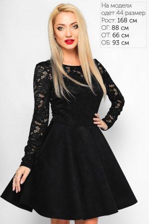 LiPar: Платье Сабина Черное 3017/2 черный - главное фото