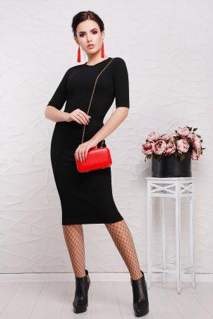 """TessDress: Облегающее платье-миди """"Зоряна"""" 1512 - главное фото"""