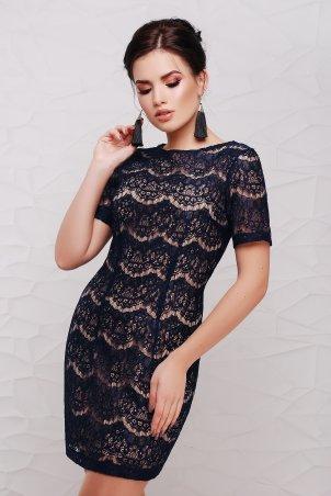 "TessDress: Гипюровое платье ""Lexi"" Navy 1184 - главное фото"