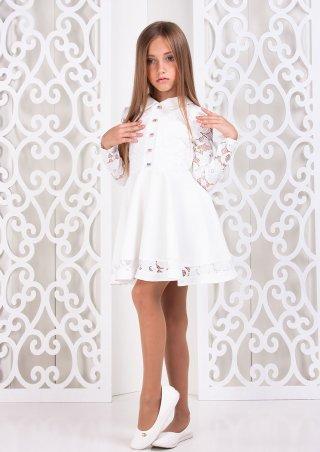 Sofia Shelest. Платье Сицилия белый. Артикул: 000445