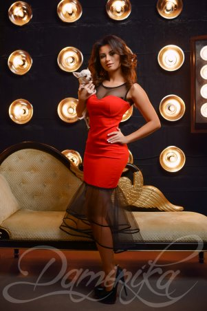 Daminika: Платье «Lips» 11526 - главное фото