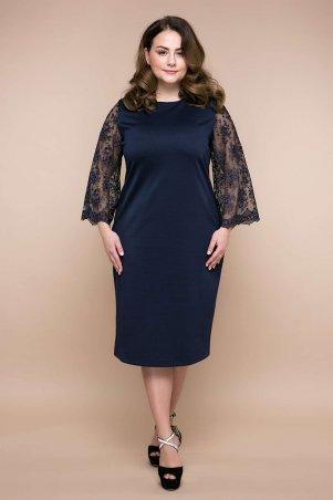 Tatiana. Вечернее платье. Артикул: ТИАРА темно-синее