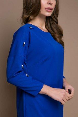 Zefir: Прямое платье с заниженной проймой ZARA электрик - главное фото