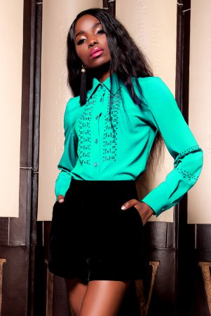 Jadone Fashion. Рубашка. Артикул: Перфис М1
