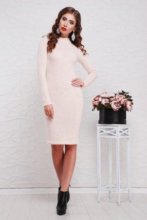 "TessDress. Облегающее платье с горлом ""Сусанна""  Powder. Артикул: 1227"