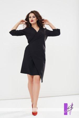 New Style: Платье на запах 1194_черный - главное фото