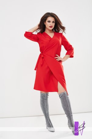New Style: Платье на запах 1194_красный - главное фото