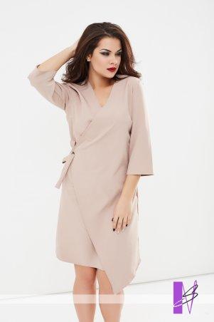 New Style: Платье на запах 1194_бежевый - главное фото