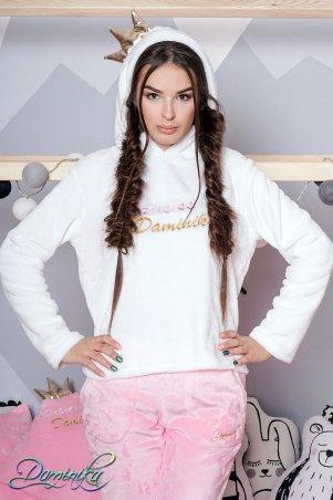 """Daminika: Махровый домашний костюм """"Princess"""" 81711 W - главное фото"""