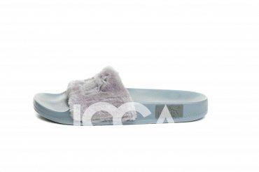 ISSA PLUS: Тапочки PA-01_серый - главное фото