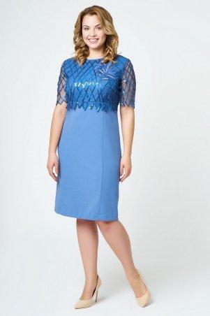 RicaMare: Нарядное короткое платье с вышивкой RM1157-B-18VC - главное фото