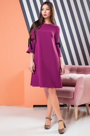 A-Dress. Платье-колокольчик цвета фуксия. Артикул: 70870
