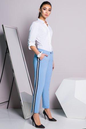 A-Dress. Офисные голубые брюки. Артикул: 30011