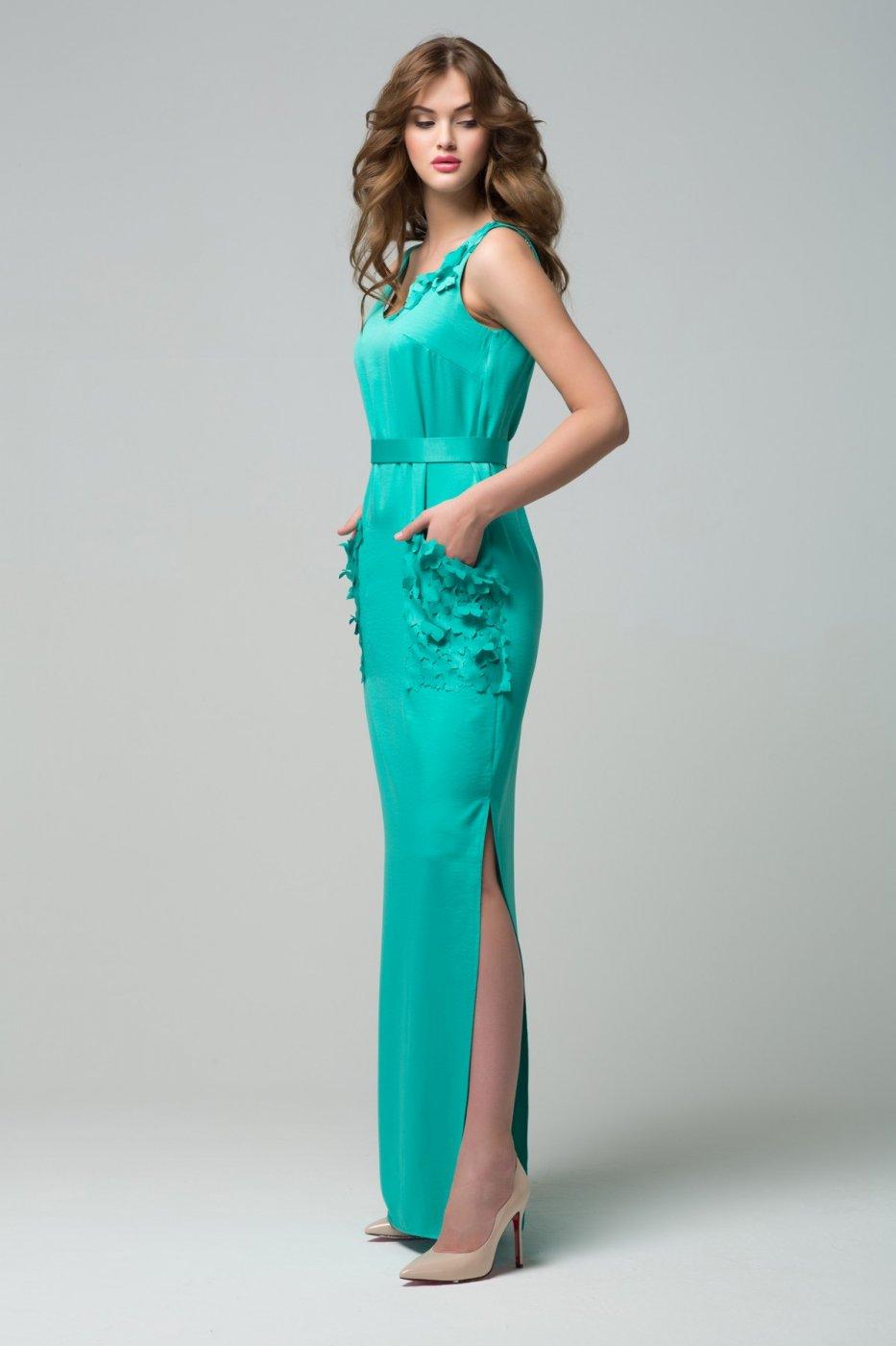 a43b3b0c77b Вечернее платье с лепестками RM1503-16DD цвета от