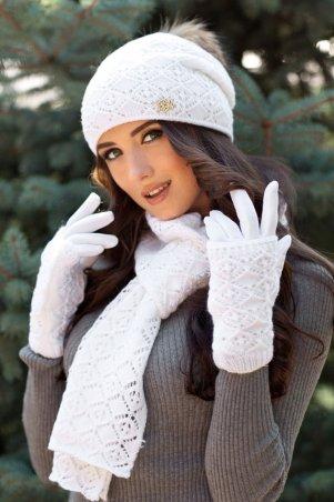 Braxton. Комплект «Афродита» (шапка, шарф и перчатки). Артикул: 4322-15