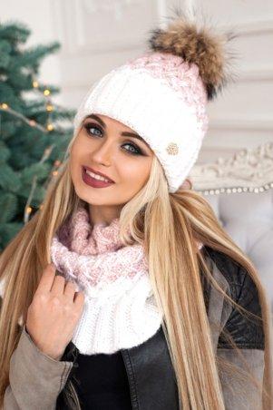 Braxton. Комплект «Вилена» (шапка и шарф-хомут). Артикул: 4605-7