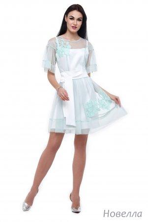 Angel PROVOCATION: Платье двойка (платье атлас + платье сетка) Новелла - главное фото