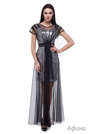 Angel PROVOCATION: Платье двойка (платье пайетка + платье сетка) Афина - главное фото