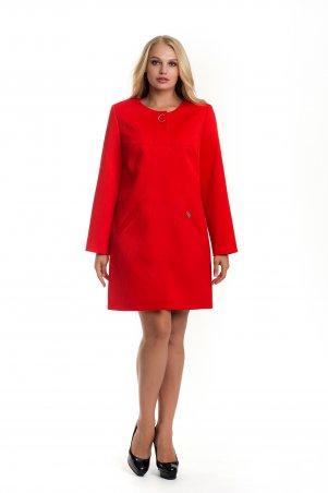 Vicco: Женский весенний плащ - кардиган SHARLOTA (цвет красный дизайн волна) 7424 - главное фото