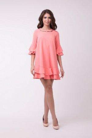 RicaMare: Короткое платье с расклешенной юбкой RM359-18VC - главное фото